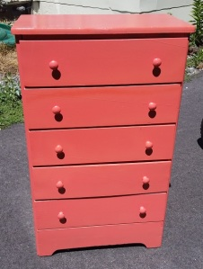 Chest Small 5-Drawer Salmon July 2016 a