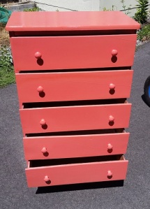 Chest Small 5-Drawer Salmon July 2016 b